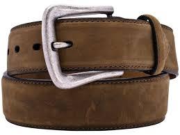 nocona mens brown distressed leather belt n2450444 46 jpg