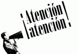 """Resultado de imagen de ATENCIÃ""""N"""