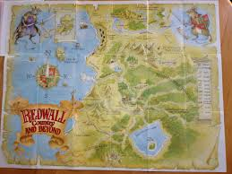 series maps is there a full map of the redwall world science fiction