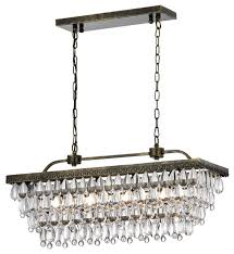 dagmar 4 light crystal chandelier traditional chandeliers by