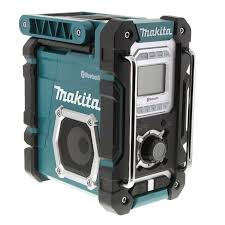 hitachi work radio. cordless jobsite radio skin 18v bluetooth black hitachi work
