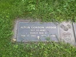 Alton Gordon Snyder (1922 - 1986) - Genealogy
