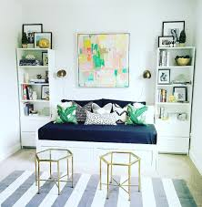 spare bedroom office. Ikea Brimnes Daybed :: Guest Bedroom Home Office Black And White Grey Colorful Art--potentially For Third Spare H