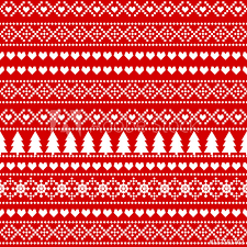 Christmas Pattern Background Beauteous Seamless Christmas background card Scandinavian sweater style