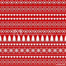 Christmas Pattern Background Beauteous Seamless Christmas Background Card Scandinavian Sweater Style