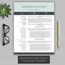 Resume Pro Resume Cv Cover Letter By Pro Graphic Design On Creativemarket