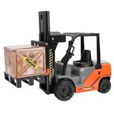size 1/8 <b>11CH RC</b> Simulation Forklift Truck Crane RTR Engineer ...