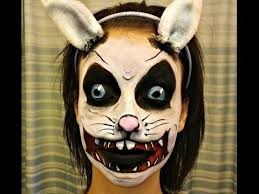 Small Picture easter bunny facepaint BACK Easter Bunny Face Paint Tutorial