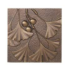 gingko leaf aluminum wall decor on ginkgo tree metal wall art with whitehall products 8 in gingko leaf aluminum wall decor 10247 the
