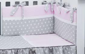 cot bed per and duvet cover polka