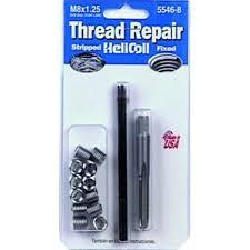 Metric Coarse Thread Repair Kit M8x1 25 X 12 0mm