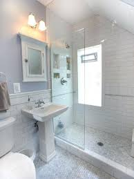 traditional shower designs. Doorless Shower Designs Bathroom Mid Sized Traditional 3 4 White Tile And Subway Mosaic