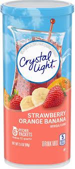 Crystal Light Drink Mix Strawberry Orange Banana Crystal Light Drink Mix Strawberry Orange Banana Pitcher