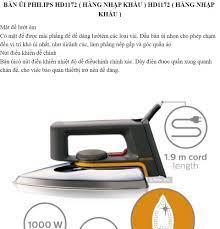 Bàn ủi Philips điện Máy XANH Bàn là Bàn ủi các loại giá Rẻ. Bàn để ủi đồ  kiểu đứng có giábàn ủi đồ thông minhBàn ủi Philips HD1172