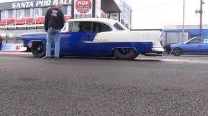Marc Lamudes 55 Chevy 8.24@169.81 MPH - YouTube