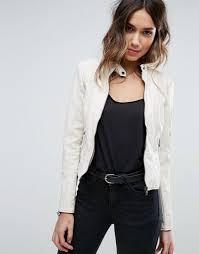vero moda faux leather jacket white women jackets vero moda dresses vero moda jackets stylish