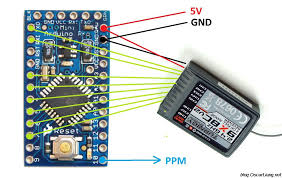 diy pwm to ppm converter for ghz receiver using arduino oscar diy pwm to ppm converter for 2 4ghz receiver using arduino