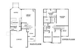 Adams Homes   Adams Homes Floor Plans For The Biggest Homebuilders    Addams Family House Floor Plan