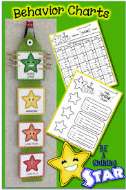 Star Student Chart Behavior Charts Classroom Online Charts Collection