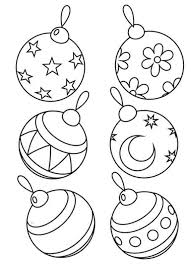 The most common kids coloring sheets material is paper. 60 Christmas Balls Coloring Pages Family Holiday Net Guide To Family Holidays On The Internet