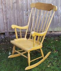 shabby chic rocking chair restoration project