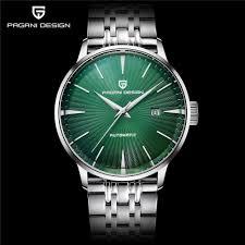 Pagani Design Watch Pagani Design Watch Men Automatic Mechanical Steel Waterproof