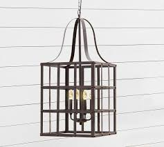 rustic grid indoor outdoor lantern