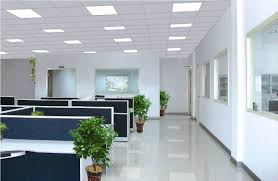 lighting in an office. how led lighting will benefit your business in an office