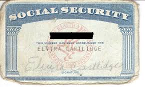 - A Of Card Social Cost Security Getting Information Replacement