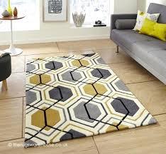 awesome grey yellow rug or 97 grey and yellow rug dunelm