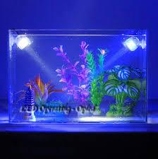 outdoor indoor underwater led lamp waterproof led aquarium light for c reef fish tank submersible aquarium spot lamp light in lightings from home