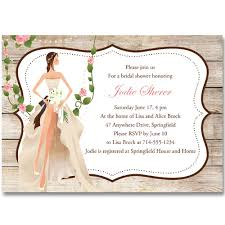Vintage Garden Country Bridal Shower Invitations Online Ewbs052 As