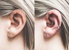 Curated Ear Piercings
