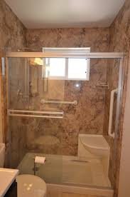 Walk-In Shower Remodel in Arroyo Grande traditional-bathroom