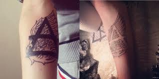 первая татуировка как тебе пикабу