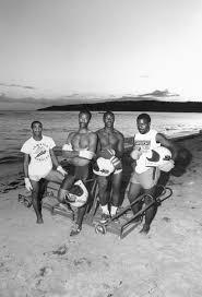 Jamaican Bobsled Team 1988 Oldschoolcool