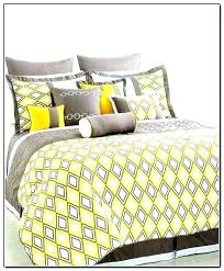 turquoise and gray chevron comforter sets yellow white bedding