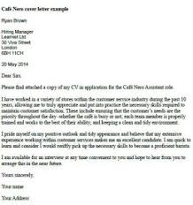 Work Experience Cover Letter Letter Of Application Work Experience