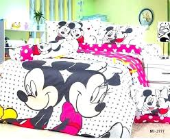 Minnie Mouse Bedroom Set Full Size Twin Bedding Mickey And Comforter