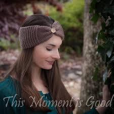 Knitted Headband Pattern Mesmerizing Loom Knit Headband Pattern Free Loom Knitting By This Moment Is