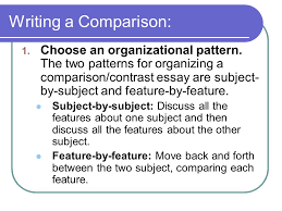 creating an effective comparison contrast essay ppt video online  7 writing