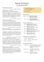 Curriculum Vitae Builder Amazing Tccv Two Columns Curriculum Vitae Usajobs Resume Builder 48