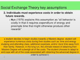 social exchange theory social exchange theory