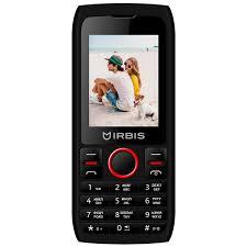 Мобильный <b>телефон Irbis SF54</b> Black/Red - характеристики ...