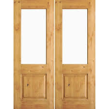 krosswood doors 72 in x 96 in rustic