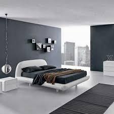 grey walls bedroom