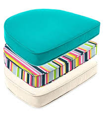 outdoor chair seat cushions amazing round