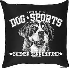 Kissenbezug Hülle Rasse Hund Berner Sennenhund Geschenk