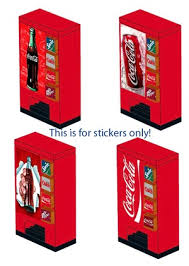 Coca Cola Vending Machine Manual Fascinating LEGO Vending Machines Instructions And Stickers Home