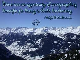 Beautiful Quotes Of God Best of Beauty Is The Handwriting Of God